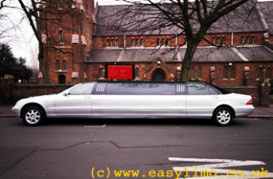 Mercedes Limo
